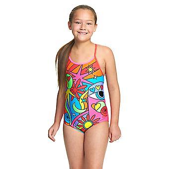 Zoggs comemorar Bella crossback swimwear para meninas