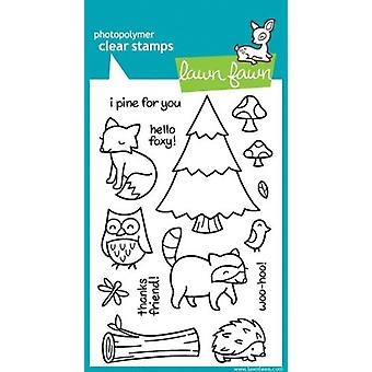 Lawn Fawn Clear Stamps Critters in the Forest (LF314)