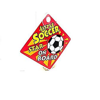 Baby Car Sign - Little Soccer Star On Board