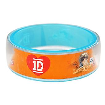 One Direction Bangle Louis Orange
