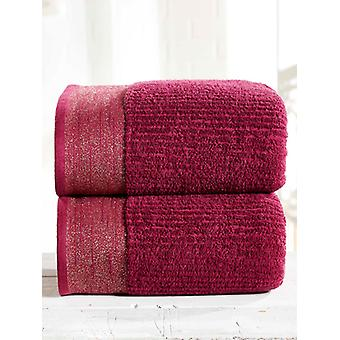 Mayfair 2 Piece Towel Bale Damson