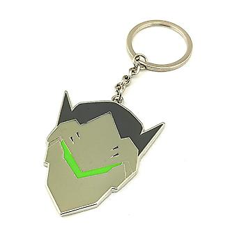 Key Chain - Overwatch - Genji Enamal Metal New kc-ow-genji