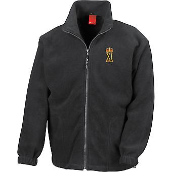 11 EOD Explosive Ordnance Disposal and Search Regiment RLC - Licensed British Army Embroidered Heavyweight Fleece Jacket