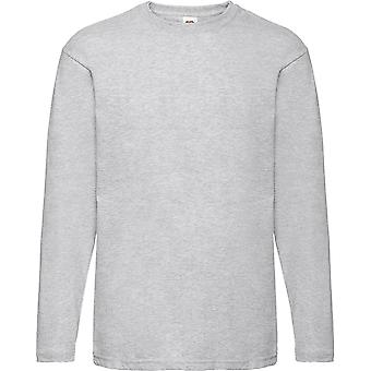 Fruit Of The Loom - Mens Valueweight Long Sleeve Tee T-Shirt