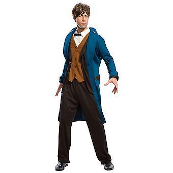 Newt Scamander Deluxe Fantastic Beasts Harry Potter Wizard Magic Mens Costume