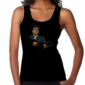 Tony Montana Say Hello To My Little Friend Scarface Women's Vest