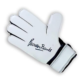 Gordon Banks Signed Goalkeeper's Glove