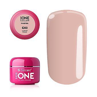 Base one Pastel-Light pink 5 g UV-gel