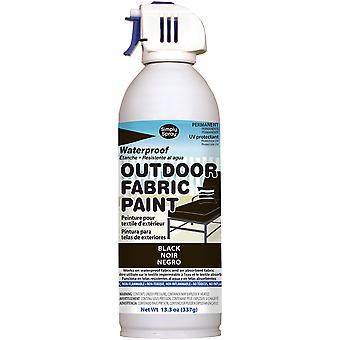 Outdoor Spray Fabric Paint 13.3oz-Black OF0046-1M