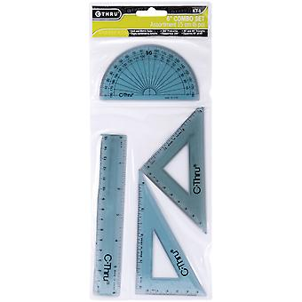 Ruler Combo Set 4 Pieces C4930756
