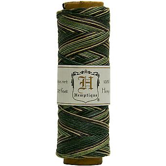 Hemp Cord Spool Variegated 10# 205 Feet Pkg Camo Hsv10 9388