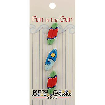 Fun In The Sun Buttons Surfboards Fn 129