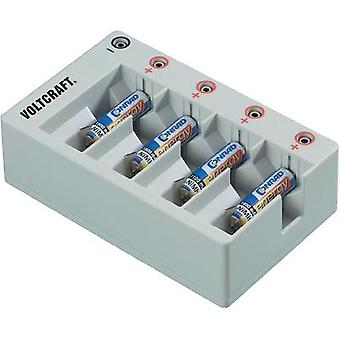 Charger adapter for round-cell rechargeable batteries VOLTCRAFT Ladeschacht