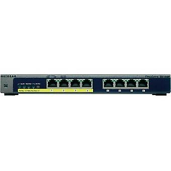 Network RJ45 switch Netgear GS108PE 8 ports 1 Gbit/s PoE