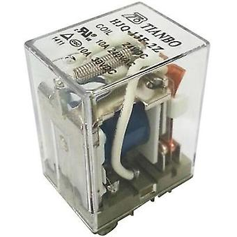 Plug-in relay 24 Vdc 15 A 2 change-overs Tianbo Electronics HJQ-13F-2Z -24VDC 1 pc(s)
