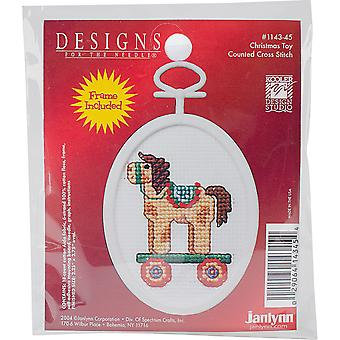 Christmas Toy Mini Counted Cross Stitch Kit-2.75