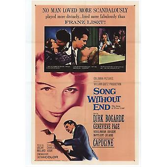 Canzone senza fine Movie Poster (11x17)