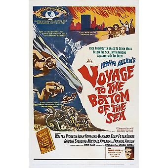 Voyage To The Bottom Of The Sea Walter Pidgeon Frankie Avalon 1961 Tm And Copyright  20Th Century Fox Film Corp All Rights Reserved Courtesy Everett Collection Movie Poster Masterprint