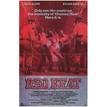 Red Heat Movie Poster (11 x 17)