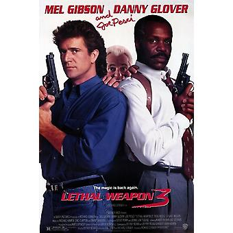 Lethal Weapon 3 Movie Poster (11 x 17)