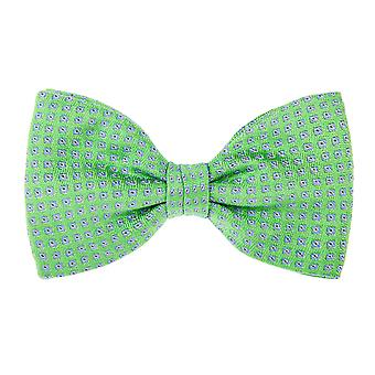 Pellens & Loïck men's bow tie silk squares Green