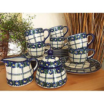 Complete service for 6 people, unique 50 - tea sets - BSN 2271