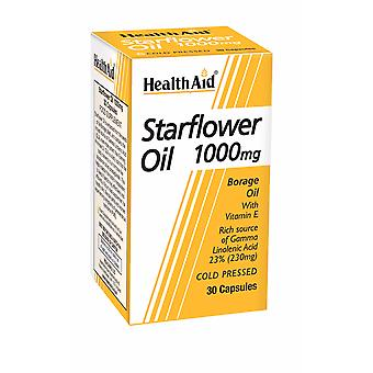 Health Aid Starflower Oil  1000mg (23% GLA) ,  30 Capsules