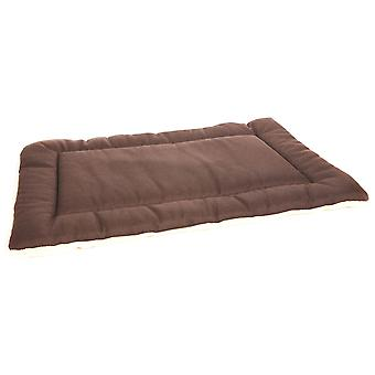 Rectangle Cushion Pad Basketweave Brown/oatmeal Size 4 104x74x5cm