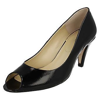 Ladies Van Dal Peep Toe Heels Danvers