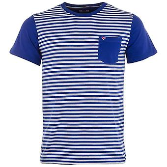 Weekend Offender Men's Birch Striped Crew Neck T Shirt Top