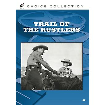Trail of the Rustlers [DVD] USA import