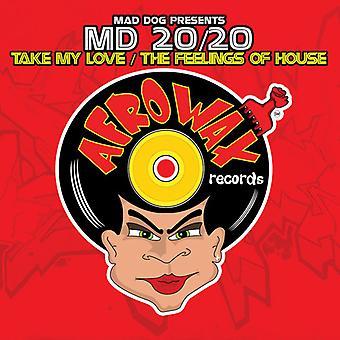 Mad Dog apresenta Md 20/20 - leve meu amor/sentimentos de casa [CD] EUA importação