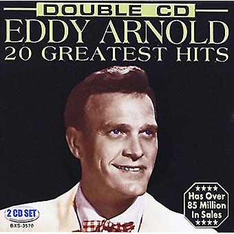 Eddy Arnold - 20 Greatest Hits [CD] USA import