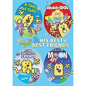 Wubbzy & His Besty Best Friends [DVD] USA import