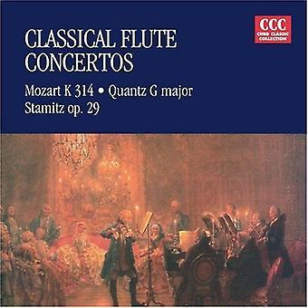 Mozart/Quantz/Stamitz - Classical Flute Concertos: Mozart K 314, Quantz G Major, Stamitz Op. 29 [CD] USA import