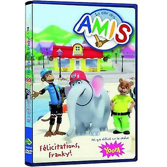 La Cite Des Amis-gelukwensen Franky! [DVD] USA import