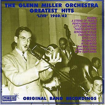 Glenn Miller - største Hits Live 1940-42 [CD] USA import