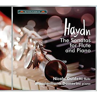 Haydn / Guidetti - Sonatas for Flute & Piano [CD] USA import