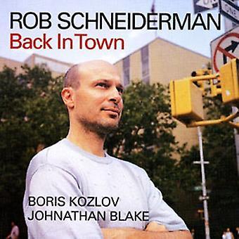 Rob Schneiderman - tilbage i byen [CD] USA import