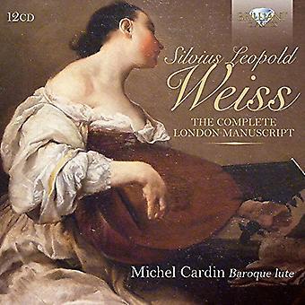 Weiss / Cardin, Michel - Weiss / Cardin, Michel: Complete London Manuscript [CD] USA import