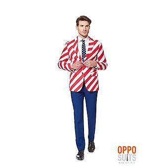 Opposuit United stripes America USA suit slimline Premium 3-piece EU SIZES