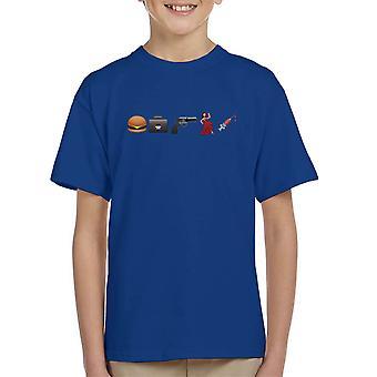 Emoji Pulp Fiction børne T-Shirt