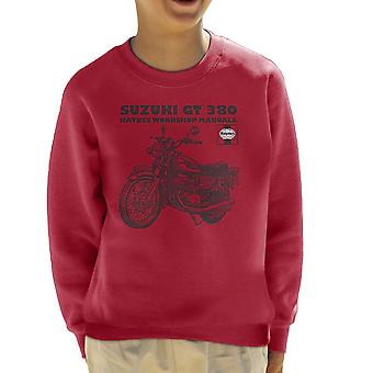 Haynes Owners Workshop Manual Suzuki GT 380 Triple Kid's Sweatshirt