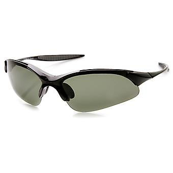 TR90 irrompibles ligera chaqueta media lente polarizada deportes gafas de sol
