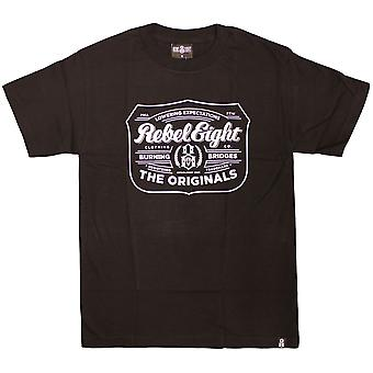Rebel8 houblon T-shirt noir