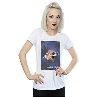 Don Broco Women's Automatic Palm Trees T-Shirt
