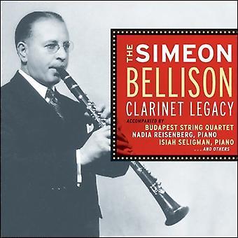 Alexander / Bellison - Simeon Bellison klarinet [CD] USA import