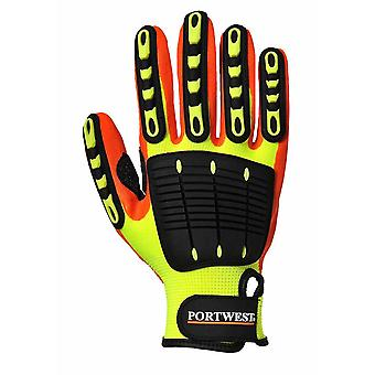 Portwest - Anti Impact Grip Glove One Pair Pack