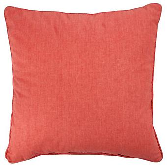 J-Line pude barneseng/Lin Orange 45X45Cm (hjem, tekstil, Cushiones)
