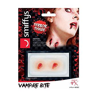 Halloween and horror  Vampire bite wound